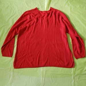 Lane Bryant Sweaters - LANE BRYANT red acrylic knit sweater